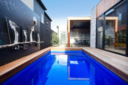 Modern home with heated pool & spa, covered alfresco and easy walk to Cafes & Shops